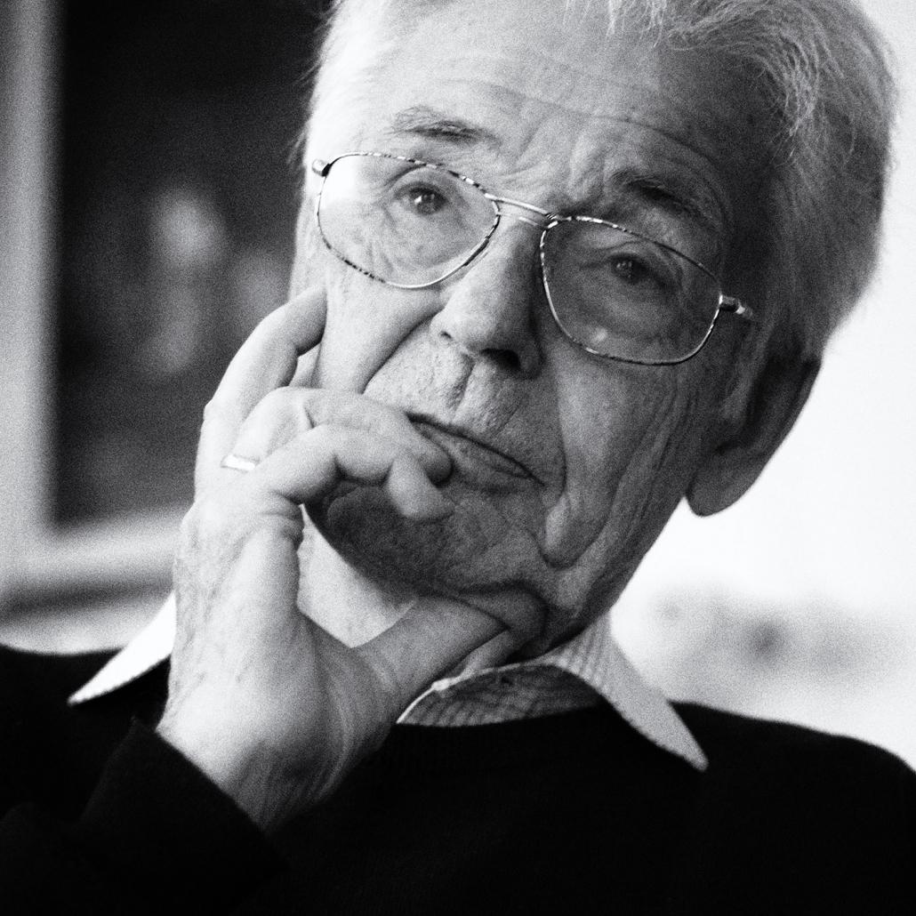 """Prof. Dr. Dr. Horst Eberhard Richter, Psychoanalytiker, Psychosomatiker und Sozialphilosoph - Gießen 2006 Seiner Institution """"Ärzte gegen den Atomkrieg"""" wurde 1985 der Friedensnobelpreis verliehen."""