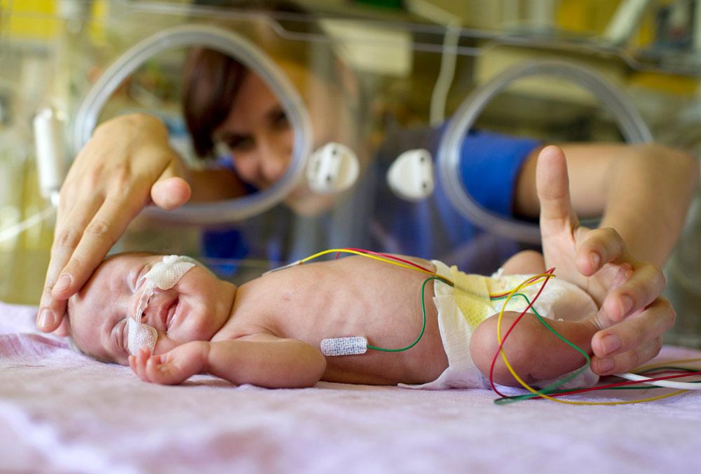Frühgeborenenstation