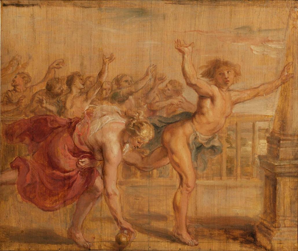 """Peter Paul Rubens, Siegen 1577 - Antwerpen 1640 """"Der Wettlauf der Atalante"""" Museum Heylshof / Worms"""