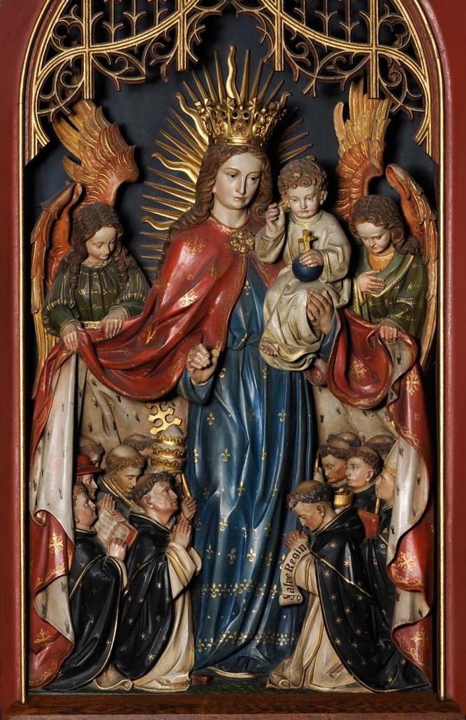 Schutzmantelmadonna Kloster St. Paulus / Worms